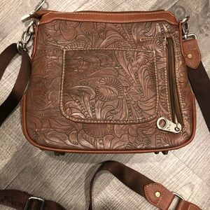 Montana West Bags - Montana West brown crossbody conceal carry purse